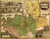The map of Ingermanlandia. 1727