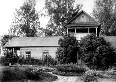 Country estate in Lyubensk.  Photograph of 1913
