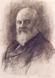 M.A. Balakirev. Portrait painted by V.V. Mate. 1912-1914