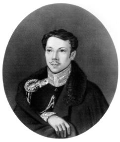 A.A. Bestuzhev. Portrait painted by N.A. Bestuzhev. 1823 or 1824