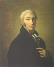 N.M. Karamzin.  Portrait painted by D.B. Damon-Ortolani. 1805