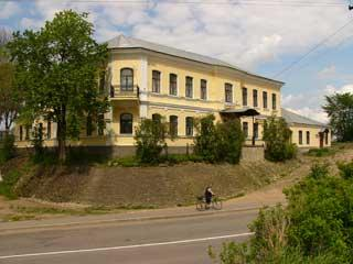 Ivangorod museum of local history. The former mansion of the merchant P.F. Pamteleyev