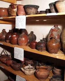Collection of ceramics (Tikhvin historical -memorial and architecture - arts museum)