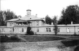 Country estate of Batovo. Photograph of the 1900s