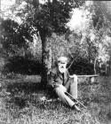 N.A. Rimsky-Korsakov  in the country estate of Vechasha. Photograph of V. Yastrebtsev. 1904