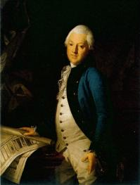 Y.M. Felten.  Portrait painted by K.L. Khristineka. 1786
