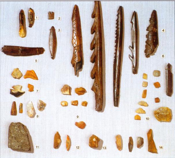 Мезолитические памятники