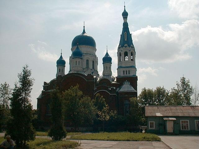 The Cathedral of the Itercession of the Mother of God in Gatchina