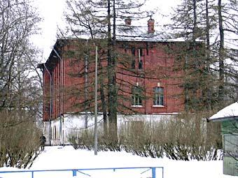 Beseda Village. Building of the agriculture college