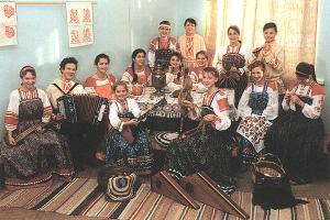 Gatchina . City House of Culture. Exemplary folk ensemble
