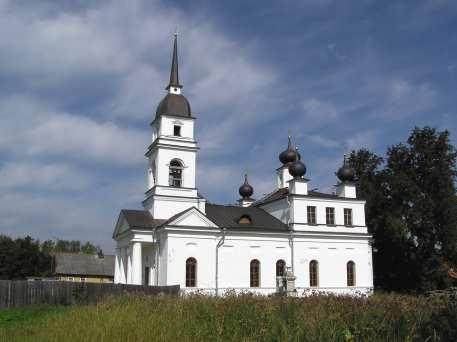 The Church  of  St. Nicholas the Wonderworker  in Kobona Village