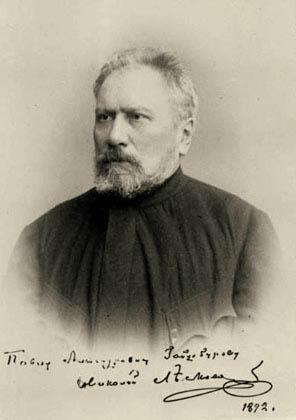 N.S. Leskov. Photograph of the 1890s