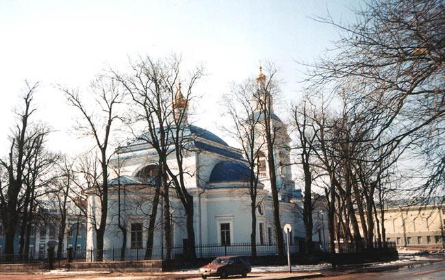 The Cathedral of Transfiguration of Christ in Vyborg (Architect G.I. Karpov, 1863-1866)