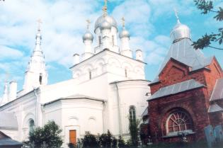 The Porechsky Monastery  of the Intercession. The Curch of the Itercession of the Mother of God
