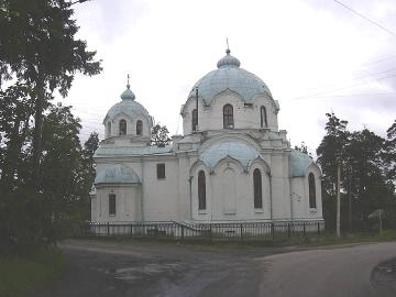 The Church of the Kazan Icon of the Mother of God in Luga Town.