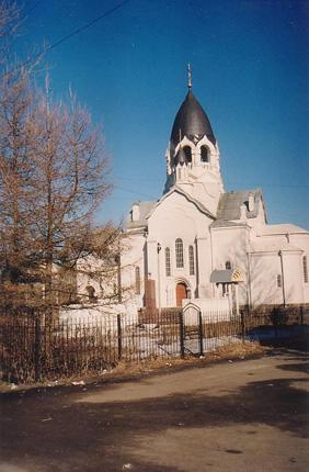 The Church of  St.  Alexis, metropolitan of Moscow,  in Taytsy Village  (Architect I.V. Eskuzovich and architect N.I. Postnokov. 1915)