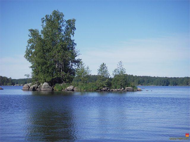 Vyborg district. Lake Melkovodnoye (Shallow)