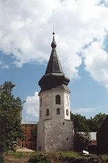 Bell tower  of the Dominican  Monastery (the Tower of the Town Hall ) in Vyborg