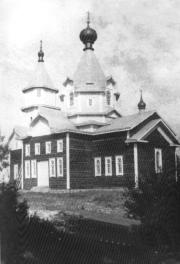 The Lounatjokskaya monastery community of St. Seraphim. The Cathedarl  of St. Seraphim of Sarov