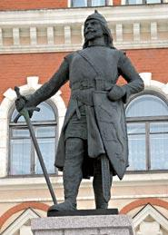 Monument to Torkel Knutsson in Vyborg