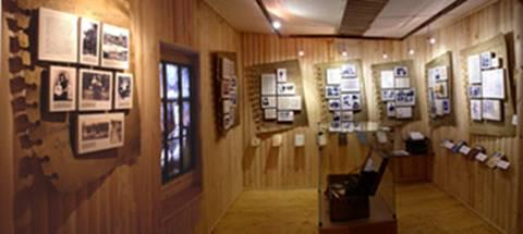 Exhibition devoted to I.A. Yefremov in the Vyritsa Village Library
