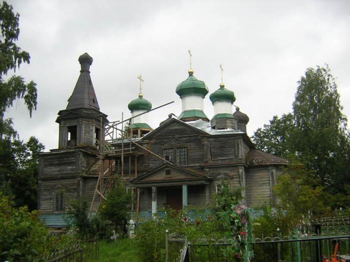 Лужский район. Деревня Городец