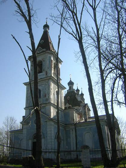 The Church of St. Nicholas the Wonderworker in Ilyeshi Village
