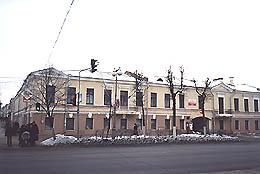 Houses of the merchant Vargin in Gatchina. Architect A.M. Baykov