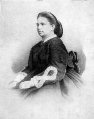 D.M. Leonova. Photograph of the 1860s