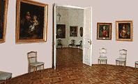 The Portraits Gallery  of the Gatchina Palace