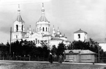 The Cathedral of the Resurrection of Christ in Luga. Photograph of  the 1900s