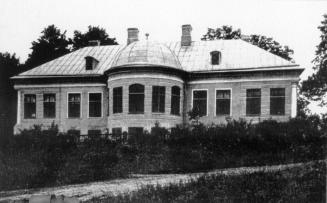The Mariyengof country estate. Photograph of 1910