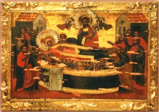 The Miracle Icon of the Dormition of the Mother of God (the