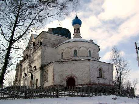 The Church of the Resurrection of Christ in Toroshkovichi Village