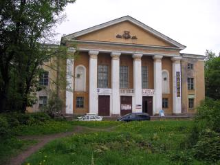 The urban village of Kuzmolovsky. The House of Culture