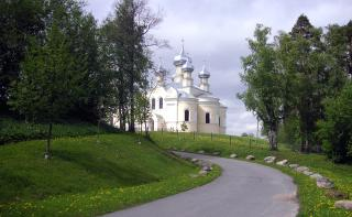 The Church of the Dormition of the Mother of God in Lezye Village