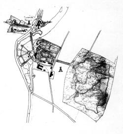 Kaskovo country estate. Plan. 1886