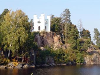 Monrepo  country estate. The Lyudwigstain Castle
