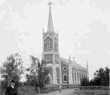 The urban village of Sovetsky (Johannes). The Lutheran Church of St. Johannes. Photograph before 1941