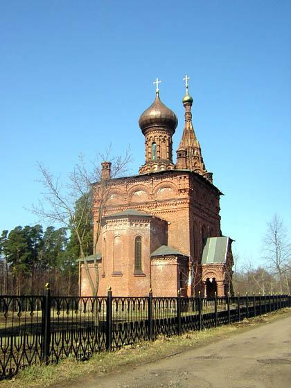 The Church of the Holy Trinity in Gora- Valday Village