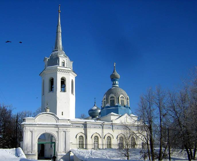 The Cathedral of the Nativity of the Mother of God in Novaya Ladoga (Architect M.A. Shchurupov, 1876-1877)