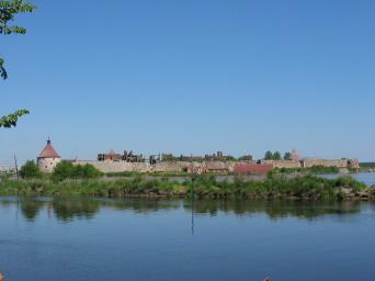 Kirovsk district. The Oreshek Fortress