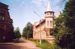 The Lomonisov  local-history museum