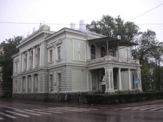 The residence of the Vyborg governor ( architect J. Y. Arenberg, 1891)