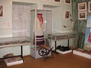 The Primorsk local-history museum. Exhibition